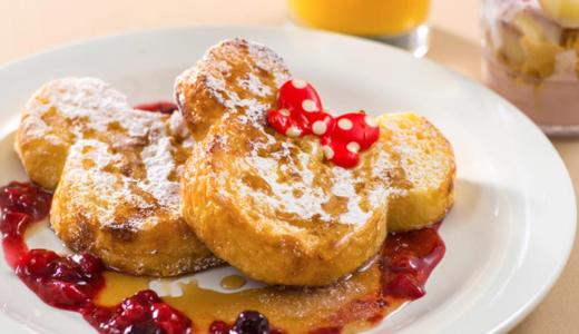 【ヒルナンデス】ディズニーのフレンチトーストレシピ!材料や作り方は?可愛いと話題に