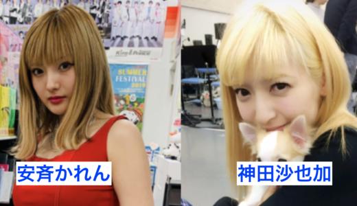 【顔画像比較】安斉かれんと神田沙也加が似てる!声もそっくり?【グータンヌーボ】