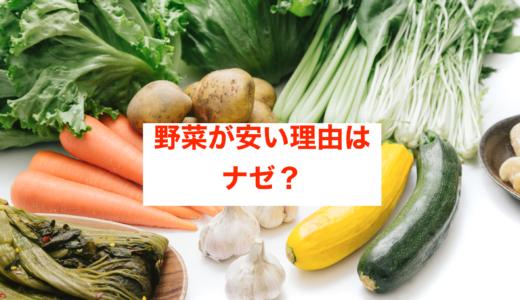 【2020】野菜が安い理由はなぜ?コロナや天候のせい?安すぎると話題に!