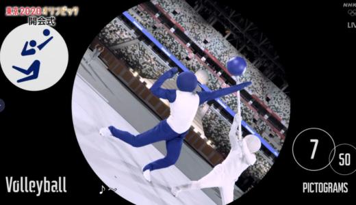 ピクトグラムは誰?オリンピック開会式の中の人はが〜まるちょば?【東京2020】
